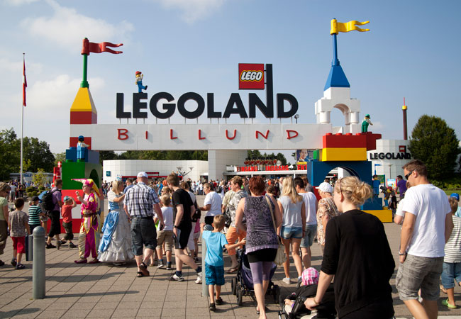 Legoland forlystelsespark for hele familien