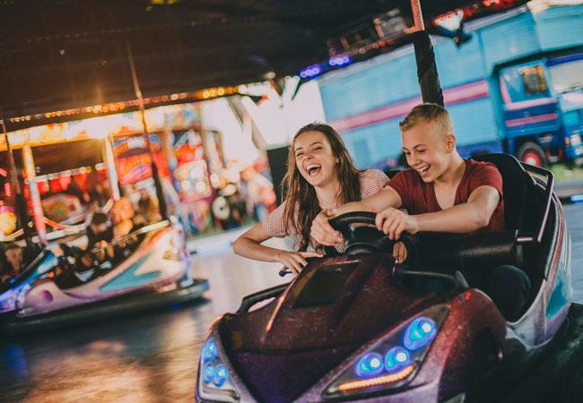 Forlystelsespark med sjove oplevelser for hele familien.