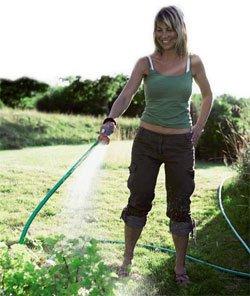 Å vanne for hånd er bra for både mennsker og planter