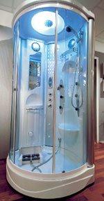 Er det en dusj eller et romskip? (Foto: Trond Folckersahm)