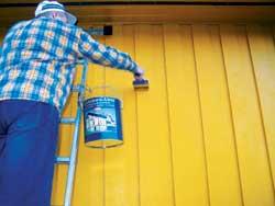 Dagens miljøvennlige utemaling er nå like holdbare som tradisjonell maling.