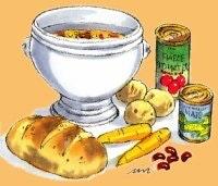 Fyldig chillisuppe