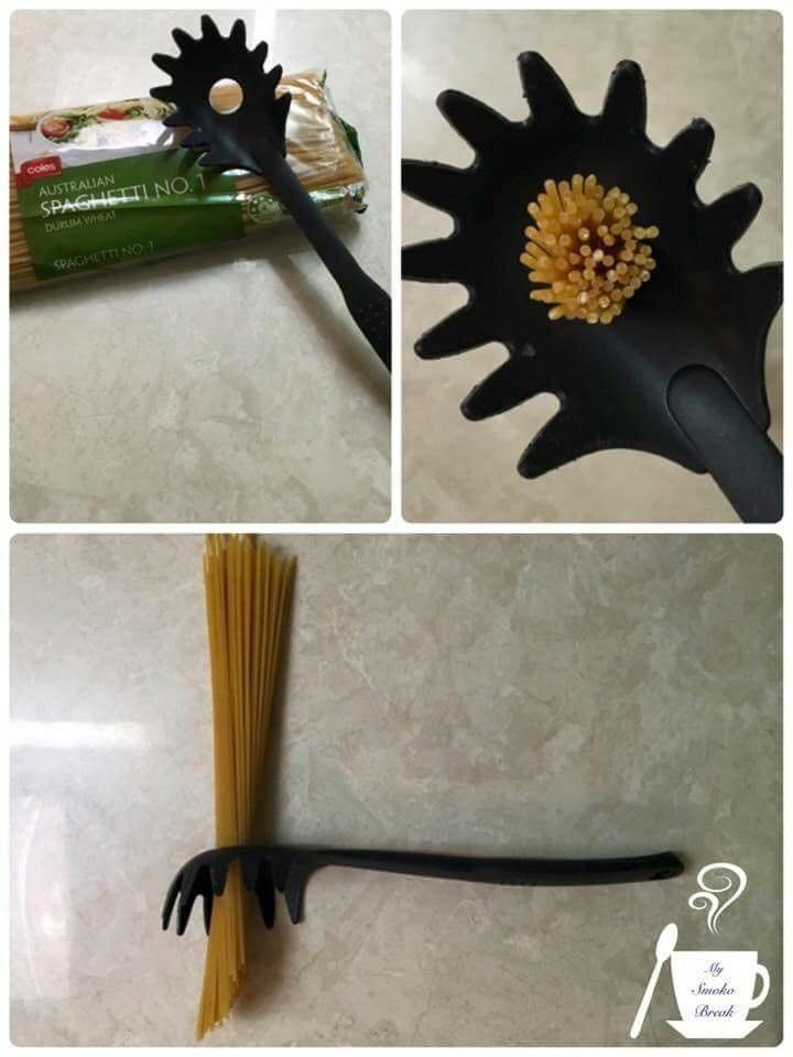 Hullet i pastaskeen har en overraskende funktion