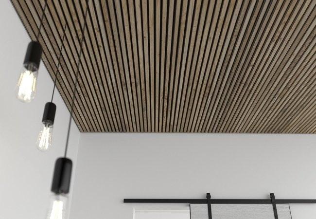 Akupaneler i loft