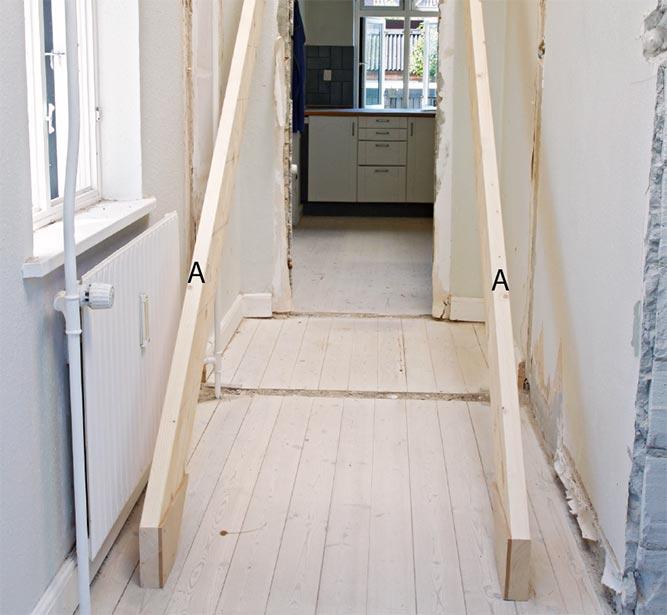 bygge trapp plassering