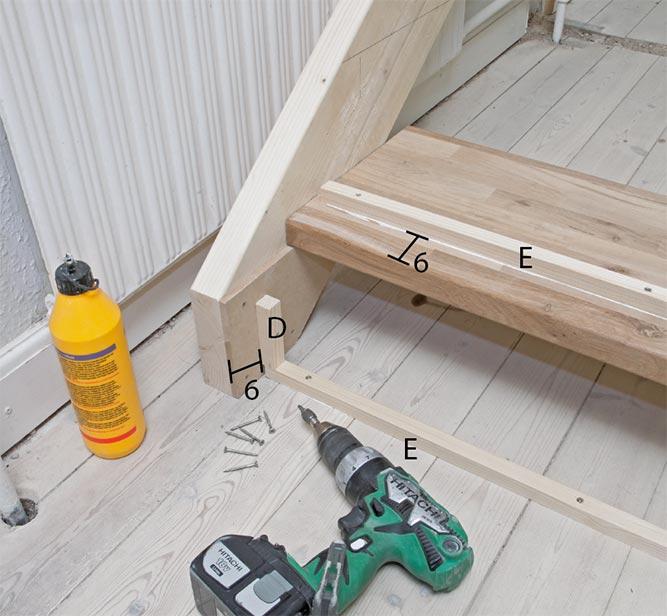 trappetrinn bygge selv