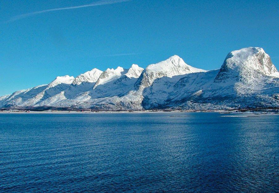 Norsk Natur - Syv klipper i Nordnorge