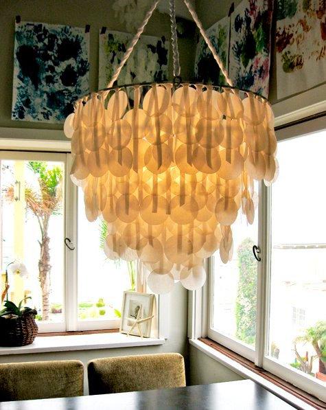 bakepapir lampe