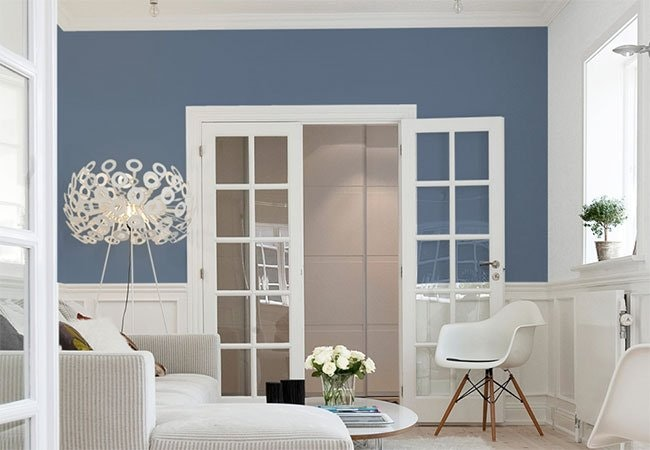 De bedste tips til at indrette med farver på væggene