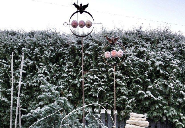 Pynt i haven, der tiltrækker fugle