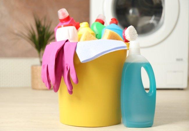 Gør rent på mors dag