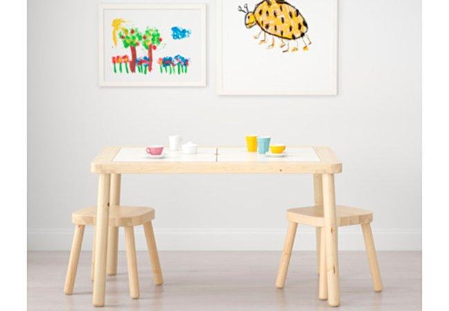 Ikea taburetter til børneværelse.