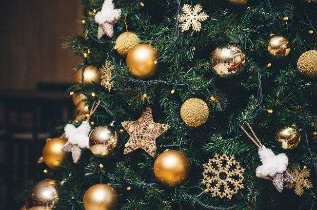 Julebelysning på juletræet