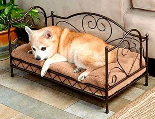 Julegave til hund - seng.