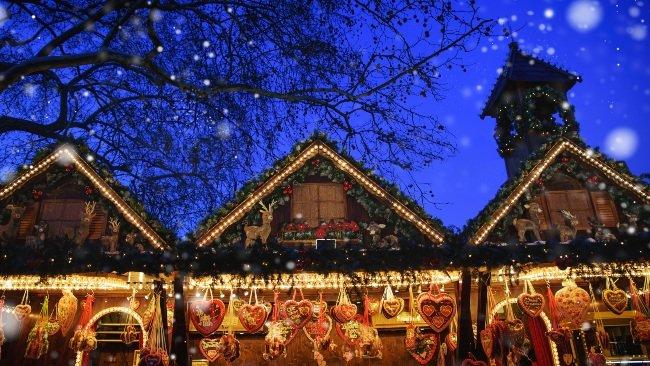Julemarked i mørke