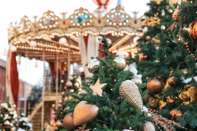Julemarked med forlystelser