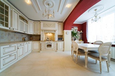 Velg stil med omhu: Kjøkkeninnredningen bør passe inn med resten av interiøret.