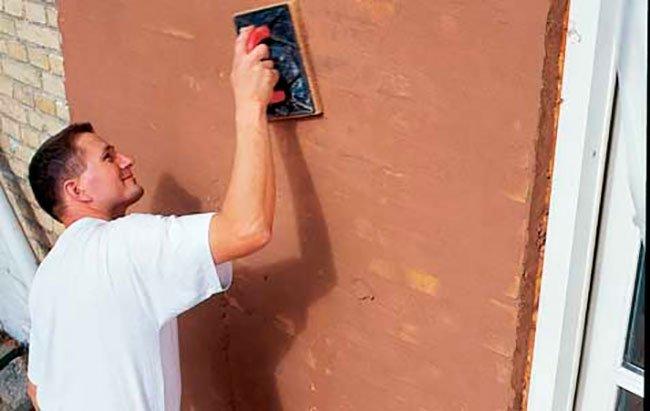 Pudsning af murværk og facade.