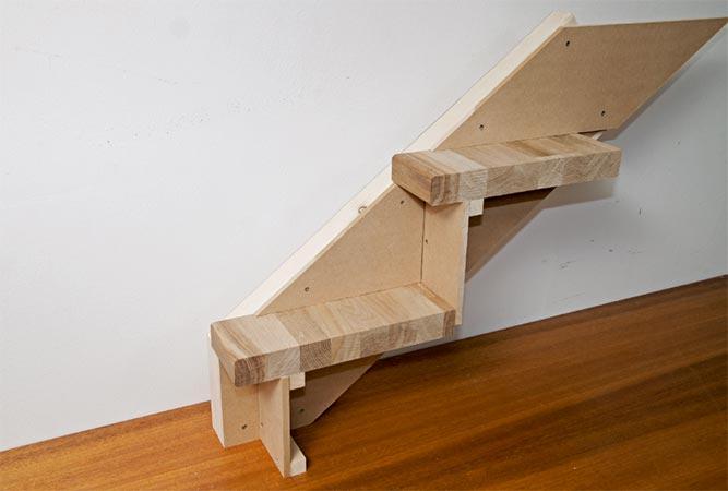trinn lengde trapp