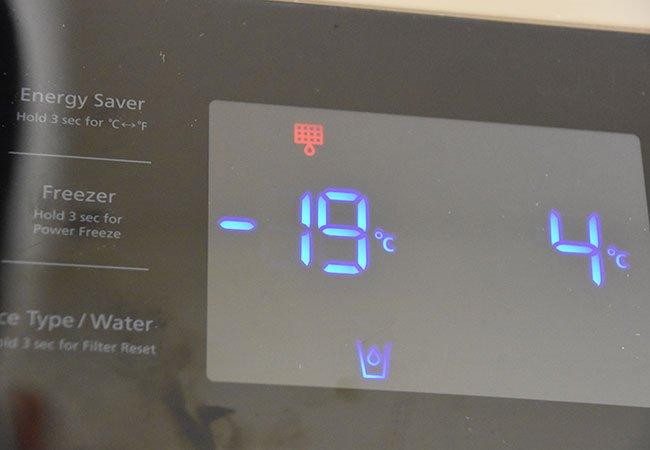 Strømforbrug køleskab og fryser.