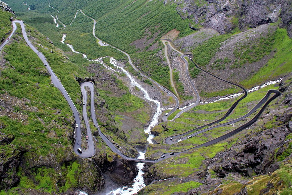 Norsk Natur - Troldstigen, vej i Vestnorge