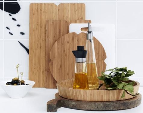 Bærekraftig brett: Rosendahl sitt populære Grand Cru sett kommer nå i bærekraftig og miljøvennlig bambus.