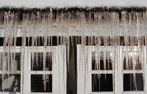 Vinterkulde: Frost og kulde fører hvert år til skader for store verdier i norske hjem.
