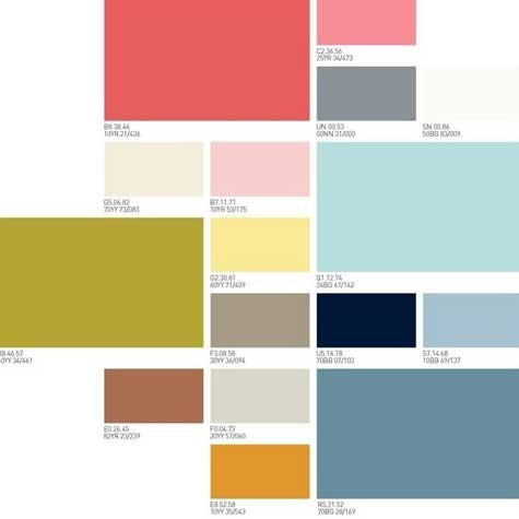 Living Scrapbook - fargepalett