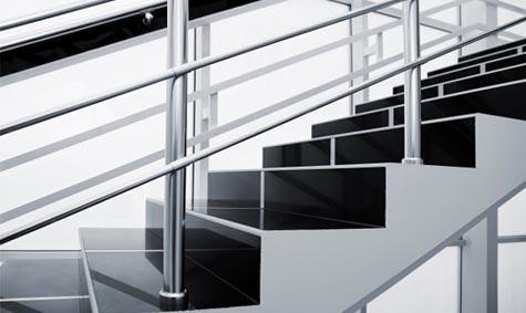 Design eller sikkerhet: De flotteste trappene er ikke nødvendigvis de sikreste.