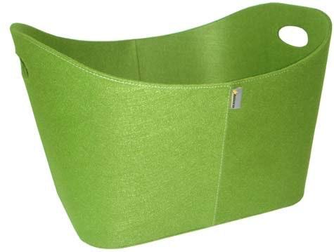 Filtkurv: Slå deg løs med filt i friske farger.