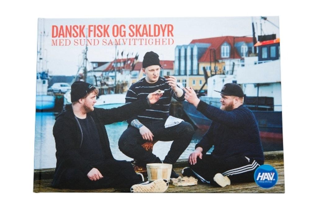 Forsiden af bogen Dansk fisk og skaldyr med sund samvittighed