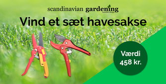 Vind haveredskaber til en værdi af 458 kroner fra Scandinavian Gardening.