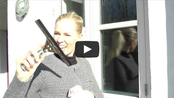 Billede til video vinduesvask