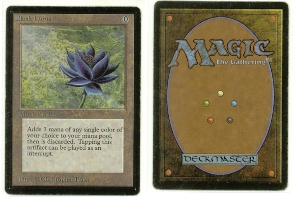 Magic cards Black Lotus