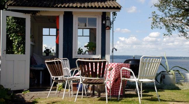 Sommerhus ved havet
