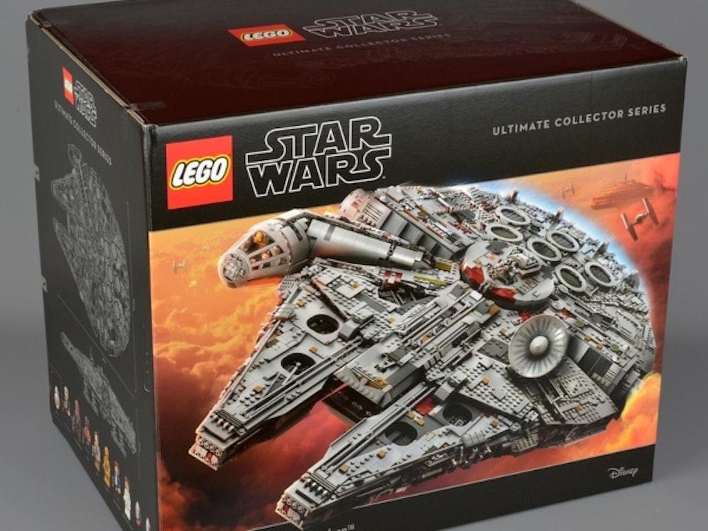 LEGO samlesæt: Millennium Falcon