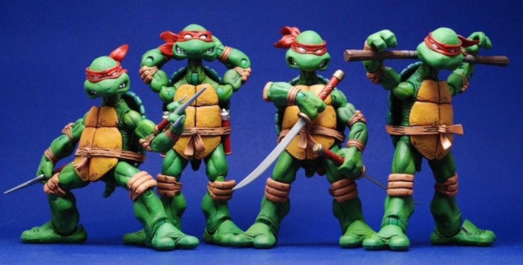 Ninja Turtles figurer