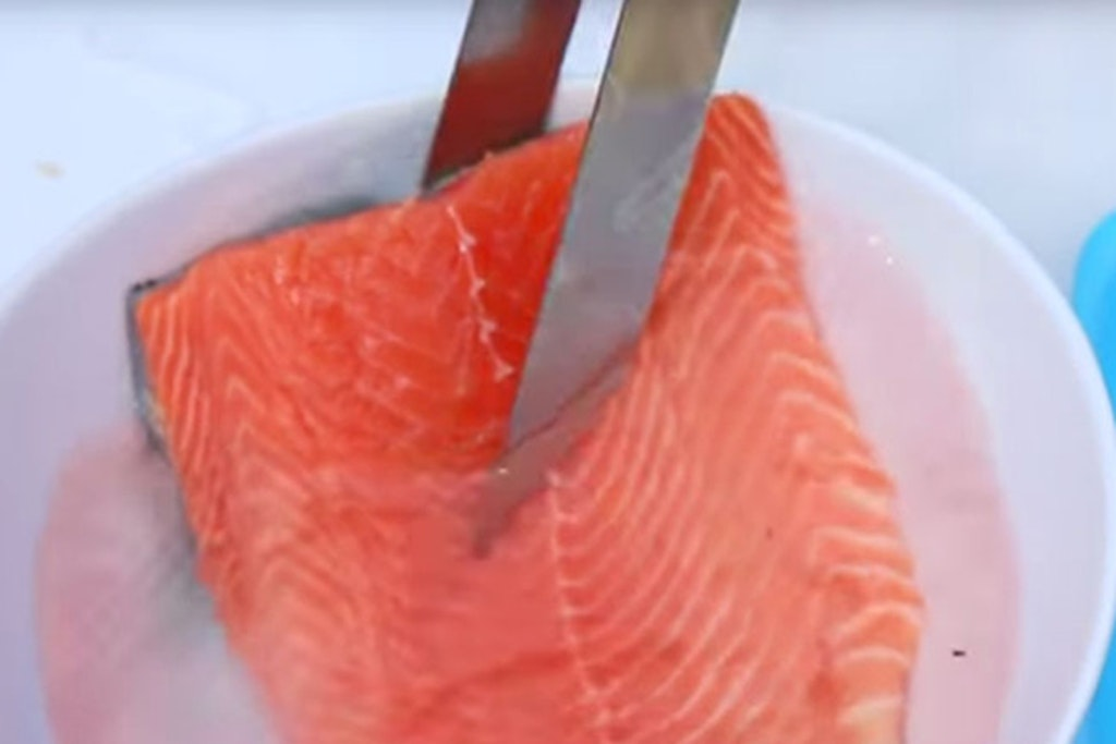 Fisk i saltlage
