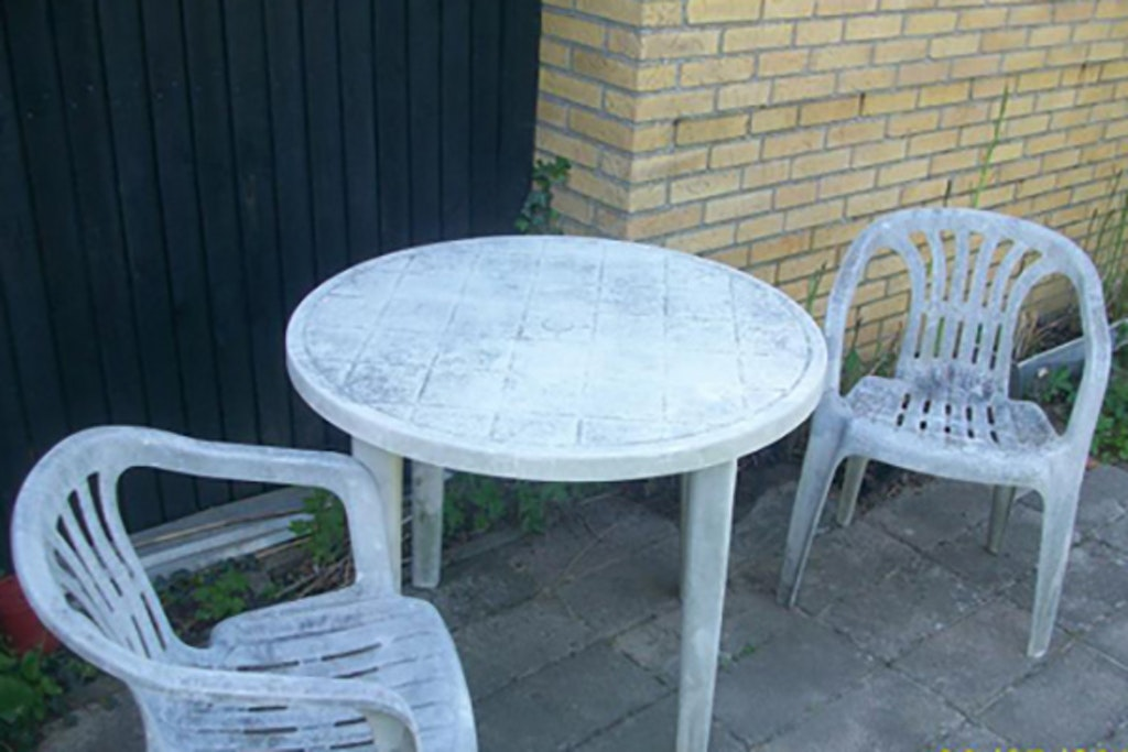 Plastik havemøbler kan også blive for slidte