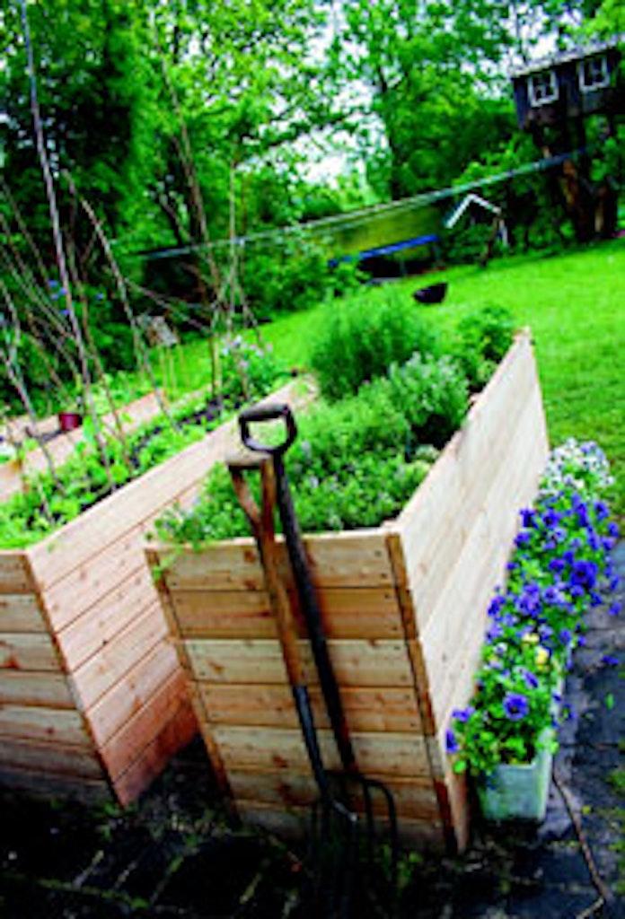 Tips til hvordan du dyrker en have selvom du bor i byen