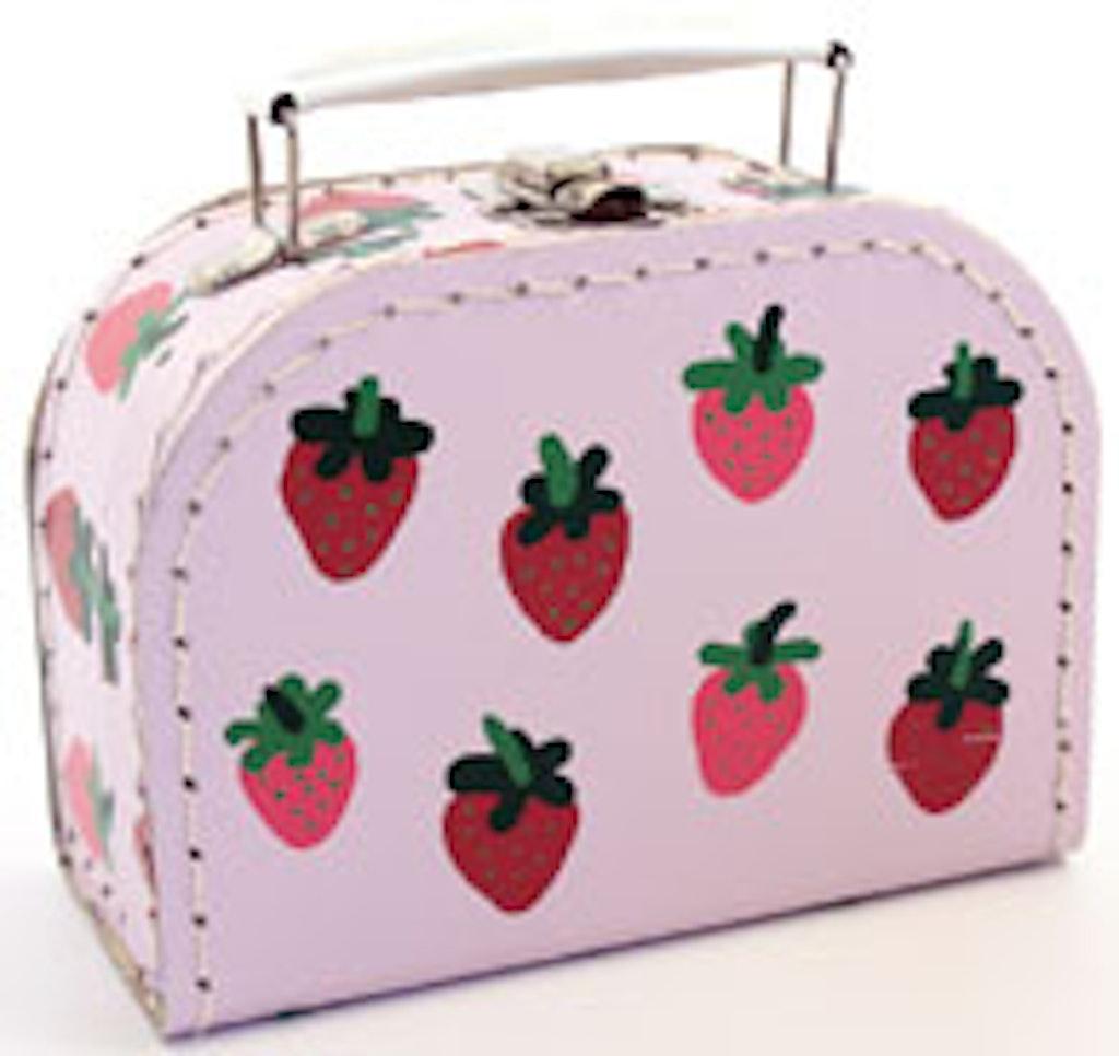 Jordbær kuffert er en klassisk sag