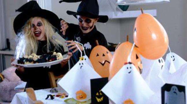 Halloween børn