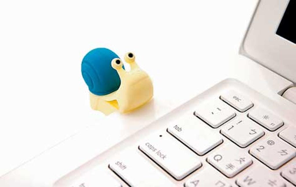 USB-nøgle som ligner en snegl